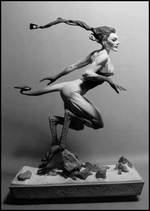Brom Gazelle Figurine